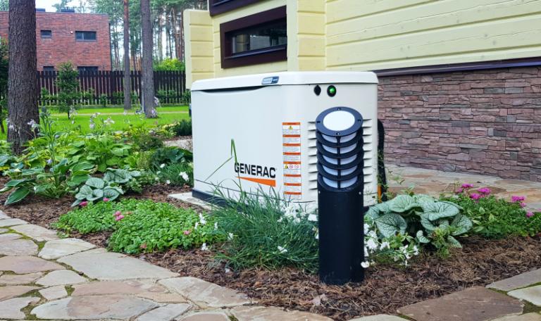 Установка и подключение газового генератора Generac